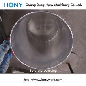 ステンレス鋼のバレル2583のための水平の表面粉砕の磨く装置
