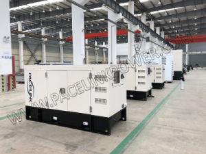 경제 세륨 ISO를 가진 43kVA Yangdong에 의하여 강화되는 방음 디젤 엔진 Genset
