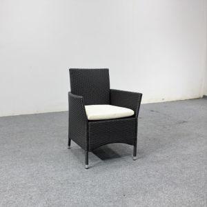 A mobília do pátio promocional sofá de vime com mesa de café