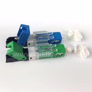 Connettore veloce ottico rapido incastonato Sc/APC della fibra dell'Assemblea di campo per FTTH