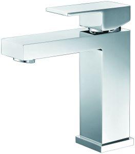 2018 Salle de bains d'eau froide du robinet de lavage salle de douche seule poignée en laiton plaque Chrome bain du bassin de mélangeur de lavabo Cascade robinet mélangeur