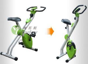 Bicicleta de ciclo indoor entrenador, el ejercicio de bicicletas
