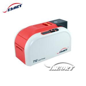 Em Stock Seaory T12 impressora de cartões inteligentes de PVC/Impressora de cartões de identificação
