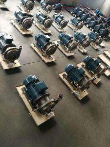 Pompe centrifuge de sanitaires en acier inoxydable alimentaire de lait de la machinerie de l'huile d'eau