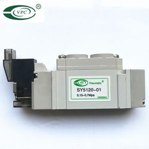 SMCのソレノイド弁Sy5120-01の空気弁Sy3120-M5 Valvulas Solenoides