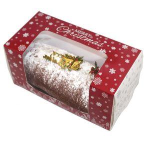 عادة أحمر طباعة أطفال ورق مقوّى ورقة غطاء وقاعدة عيد ميلاد المسيح [جفت بوإكس] مع نقطات