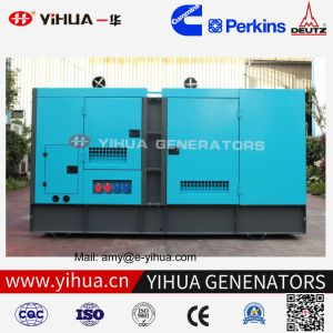 125kVA Cummins 6BTA5.9-G2 100kw 물에 의하여 냉각되는 저잡음 디젤 엔진 발전기
