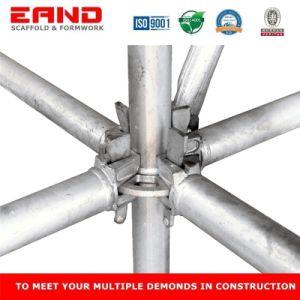 La construcción Andamios Layher acero HDG Todo Andamio Ringlock