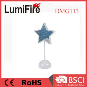 Buntes LED-Stern-Licht-Laterne-Ausgangsdekoration-Feiertags-Dekoration-Licht