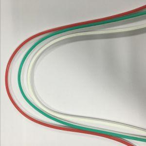 RGB/branco/vermelho/azul com faixa de Neon LED 2835/5050/ 3528 levou a tampa de sílica gel curvadas