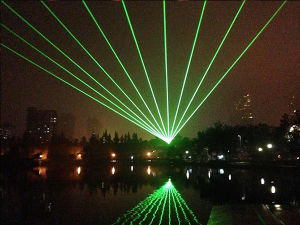30W для использования вне помещений водонепроницаемый RGB перемещение лазера головки блока цилиндров