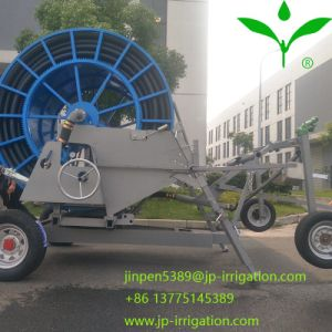 een systeem van de Irrigatie van de Spoel van de Slang met het Kanon van het Eind, Bundel en LandbouwSproeiers