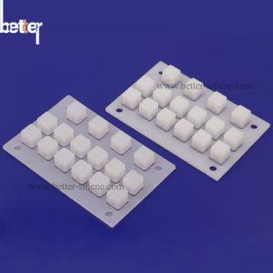 カスタム伝導性のシリコーンの機械ゴム製キーボードかKeycapsのキーパッド