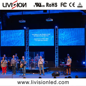 高品質P3.9/4.8教会のための屋内LED表示スクリーンレンタルLEDのスクリーン