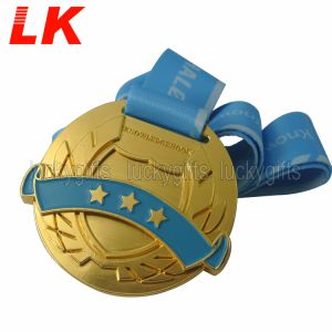 習慣によって刻まれる第2金属のバレーボールメダル