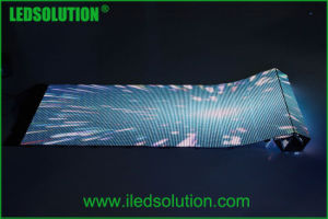 P6 à l'Intérieur Affichage LED souple pliable