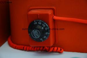 中国の工場によって貯蔵される電気シリコーンの温湿布120V-240Vのゴム製暖房毛布