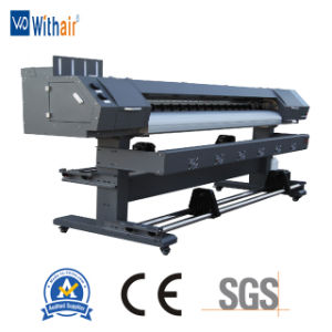 3.2m met Dx5 Printhead Epson de Digitale Oplosbare Printer Eco van het Canvas