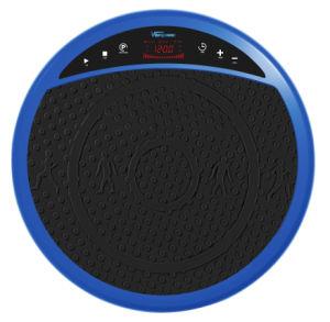 Crazy Fit la vibración de la máquina de Fitness - Ejercicio de la Plataforma Vibratoria antideslizamiento y formador de entrenamiento, con altavoces Bluetooth incorporado