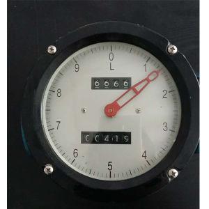 ゼロ帰り機能楕円形ギヤ流量計