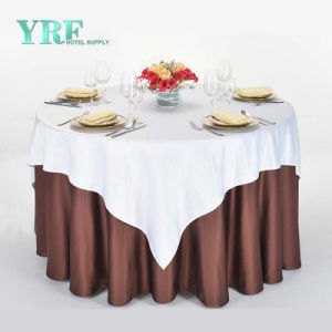 132 Ronda mantel blanco banquete de bodas de plata en oro rosa rojo azul Mantel Spandex