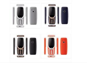 3330 GSM van de Telefoon van de staaf Telefoon Mobiele Telefoon