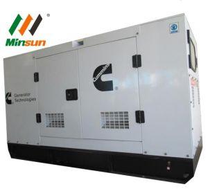 750 ква дизельного двигателя Cummins генераторная установка типа корпуса с Стамфорд копирование
