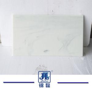 En marbre blanc de haute qualité Nano cristallisé en pierre artificielle de verre de quartz pour les comptoirs de panneau mural// TV Carrelage de sol arrière la masse