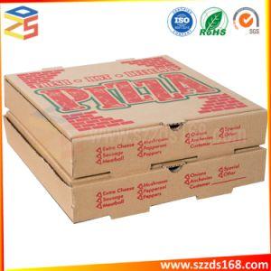 디자인을%s 가진 주문 접히는 피자 수송용 포장 상자 14 년 제조