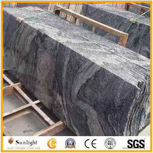 中国Juparanaかタイルまたは墓碑のための砂波の花こう岩