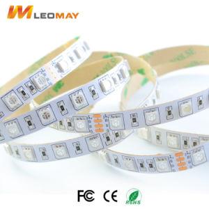24V 14.4W nietWaterdichte LEIDENE SMD5050 strook Flexibele RGB LEIDENE band