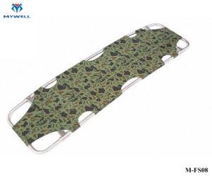 M-FS08 Portable 4 Liga de Alumínio Dobrável Pólo desdobrável maca
