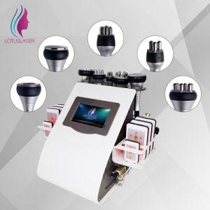 Casa Popular el uso de ultrasonido portátil Machineportable 6 en 1 de la cavitación ultrasónica Beaut vacío para la extracción de grasa