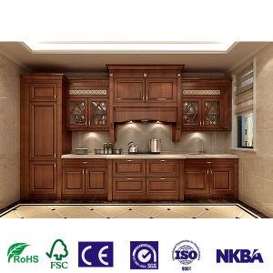 El OEM de estilo americano de madera en forma de armarios de cocina Muebles