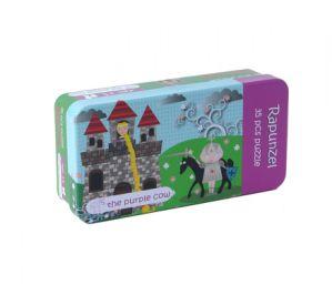 Populärer Zinn-Kasten 48 Stück-Märchen-Puzzlespiel
