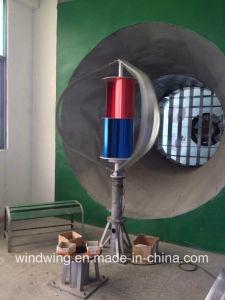 200W 12V 300rpm 격자 사용 떨어져 낮은 Rpm 수직 바람 터빈 발전기 또는