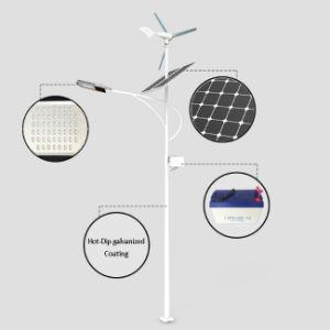 Batería de gel 60W Bombilla IP65, el viento solar calle LED de luz