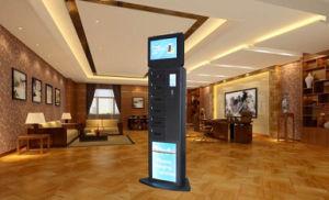 Grosse Digital, die Verschluss-Telefon-aufladenkiosk des Bildschirm-6-Door Digital bekanntmachen