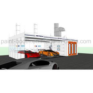 Baia della preparazione dell'automobile standard europea del Ce di Infitech/stanza della preparazione/stazione del preparato & cabina automatiche della vernice di spruzzo