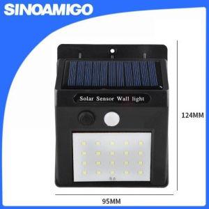 IP65 LEDのレーダーの動きセンサーの太陽センサーの壁ライト