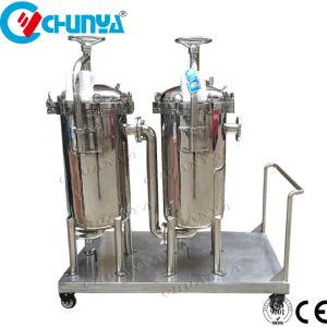 Filtro a sacco del duplex dell'acciaio inossidabile per il sistema di trattamento di acqua del RO