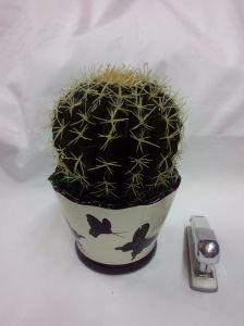 China Wholesale Bola Artificial árbol planta en maceta de cactus para la decoración