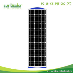 Integrada de 60W LED solar al aire libre jardín de la calle la luz de Encendido