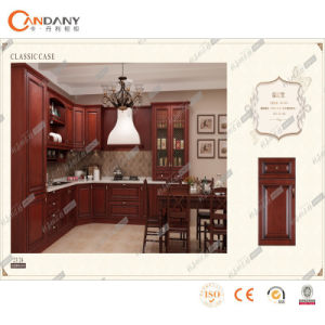 De modulaire Glanzende Keukenkasten van pvc van het Meubilair van het Huis