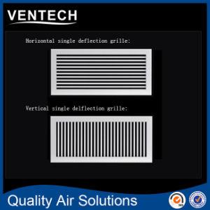 Один из алюминия HVAC отклонение воздуха на входе вентиляционную решетку