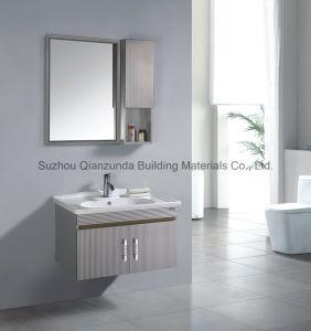 浴室用キャビネットの洗面器の固体表面はカスタマイズした