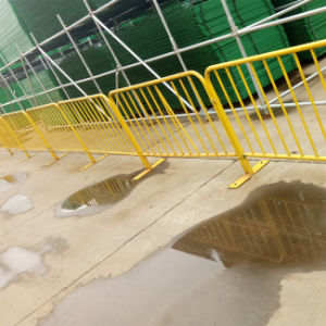 Barata temporal paneles extraíbles valla/muro antidisturbios