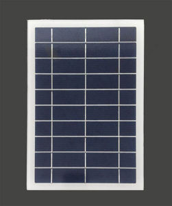 6W 5V sem caixilho Policristalino pequeno painel solar