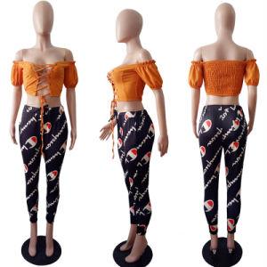 Nuevo diseño de moda de verano de la mujer sexy Aleksa fuera de la cosecha del hombro arriba