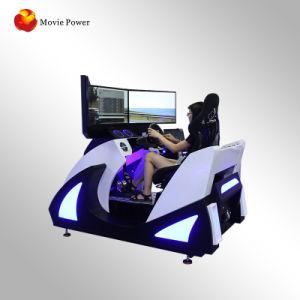 Visão 360 de Realidade Virtual 9D 3 Ecrã simulador de corridas de automóveis